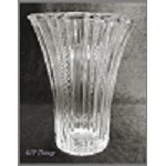 Hocking Glass Old Café Crystal Vintage Depression Flower Vase